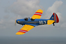 """Spirit of Little Norway"" - a Fairchild PT-19 Cornell - is from the ag..."
