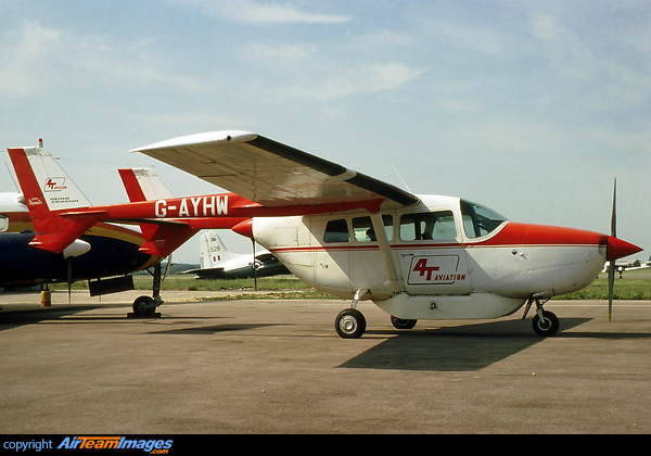 Cessna F337E Super Skymaster (G-AYHW) Aircraft Pictures