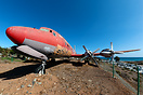 Ex Spantax, now preserved at the Aeroclub Tarajalillo (El Berriel Airf...