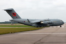 RAF's latest C-17 wearing special tail logo
