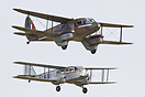 Historic formation of Scottish Airways' Dragon Rapide (G-AGJG) and Air...