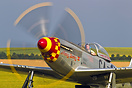 """Nooky Booky IV"" is a former RCAF Mustang from 1950 - now painted in t..."