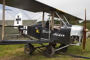 "Micro Biplane Aviation Tiger Cub 440 G-MMFS named ""Black Adder"" an unu..."