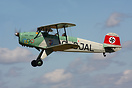 Breighton based Jungman G-BJAL seen here displaying at the annual Wing...