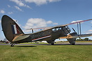 DH-89A Dragon Rapide G-AGJG caused quite a stir at Breighton's Wings a...