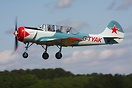 "Yakovlev Yak-52 G-TYAK ""Betsy"" seen here displaying at Breightons Wing..."