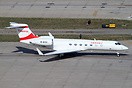 Gulfstream G550 B-8131 operated by Hanergy Holding Group.
