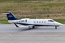 A Jet Executive Learjet 55 visits Berlin-Tegel airport
