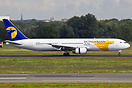 A MIAT Mongolian Airlines Boeing 767 has just arrived from Ulan Baator...