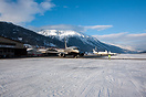 View on the apron of Engadine Airport with beautiful BBJ VP-BRT