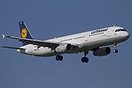 This Lufthansa Airbus A321 D-AIDG is flying four rotations a day for s...