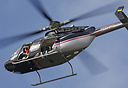 Properly stuffed with aerial photographers, this Bell 407 from Hanseat...