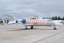 Special colourscheme on this Learjet 31 D-CURT to celebrate the 30th S...