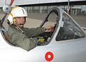 Pilot and owner of just one of two Danish jet warbirds, professor Niel...