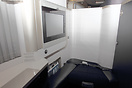 "The new British Airways ""First Class"" very stylish and elegant."