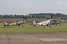 Duxford airshow celebrated the 75th anniversary of the Spitfire.