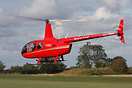 This brand new Robinson R-66 Helicopter caused a huge stir amongst the...