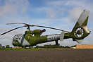 Gazelle HT2 seen here at Breighton Helicopter fly in 2011 marked up as...