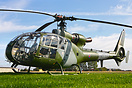 Gazelle HT2 seen here after arriving at Breightons 2011 Heli Fly in