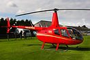 A Lovely surprise visitor in this brand new R66 at the annual Heli Fly...