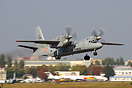 Modernized Antonov An-32 for Indian Air Force is departing back to Ind...