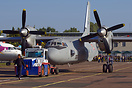 The last preparations for departure of the modernized An-32 for Indian...