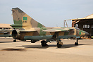 MiG-23MLD 6461 of 1023 Sqn was recently caught on film by Sky TV in la...