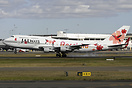 Touching down Rwy 16R at Sydney after the hop down from Brisbane after...