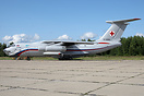 Il-76MD fresh from a re-paint in new colours with the 223 Transport Re...
