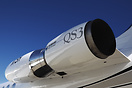 Close up view of Hubbard Aviation Technologies QS3 Gulfstream engine h...