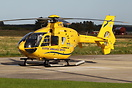 Eurocopter EC-135 G-SASA operated by Bond Air Services on behalf of th...