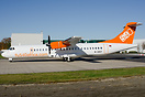 First ATR72-500 for Fly540 subsidiary Fly540 Angola. Seen with the tem...