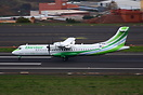 Binter ATR 72 seen here arriving at Tenerife North Airport