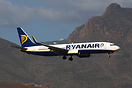 EI-DLO Seen here on finals with the dramatic Volcanic backdrop of Tene...