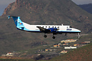 Seen here on finals to Tenerife South Airport
