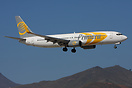 Primera Boeing 737-800 OY-PSE seen here on finals to Tenerife South Ai...