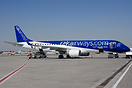 leased to RAK Airways from Air Moldova in basic Air Moldova colours an...