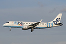 G-FBJA the first Embraer 175 for Flybe now operating from Manchester.