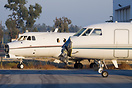 2 Bizjets being stored / maintained at Ontario airport
