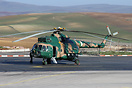 Bomb armed Algerian Air Force Mil Mi-17-1 SM-97