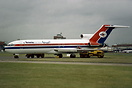 Yemenia Boeing 727 4W-ACG impounded by BMA at Heathrow.