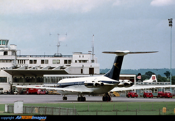 Vickers Super Vc10 Srs1151 G Asgr Aircraft Pictures