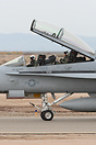 F/A-18D Hornet AD-440 of VFA-106 'Gladiators' at NAF El Centro in Cali...