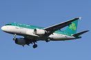 Latest addition to the fleet of Aer Lingus is Airbus A319, EI-EPS,the ...