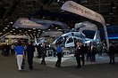 The Eurocopter stand at Heli-Expo 2012
