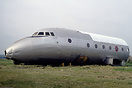 Forward fuselage of the only remaining Avro Ashton (WB491) preserved i...