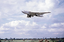 Handley Page Victor XA936 B1 Strategic bomber in anti-radiation white....