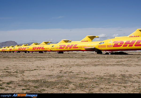 Dhl Boeing 727 Storage Airteamimages Com