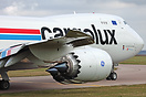 One of 2 Cargolux and one of 4 747s to visit East Midlands today trans...
