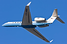 This US Army Gulfstream C-37B is departing with a VIP on board, bankin...